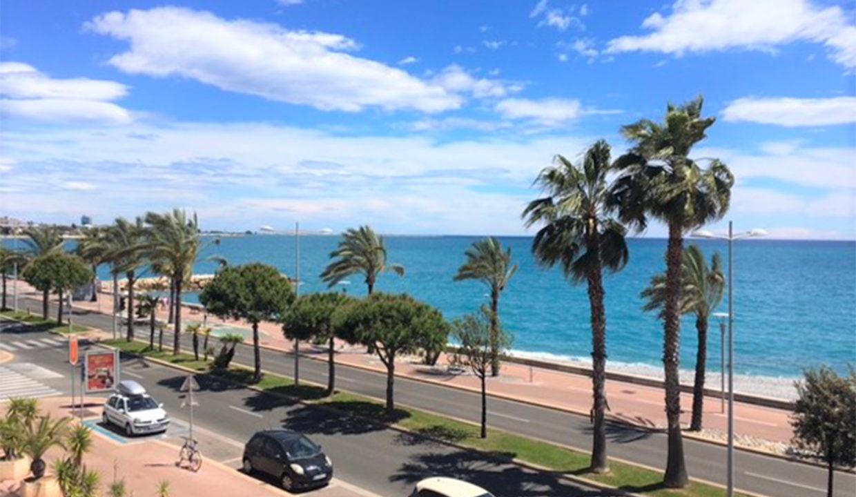 Vente Studio Cagnes-Sur-mer vue balcon