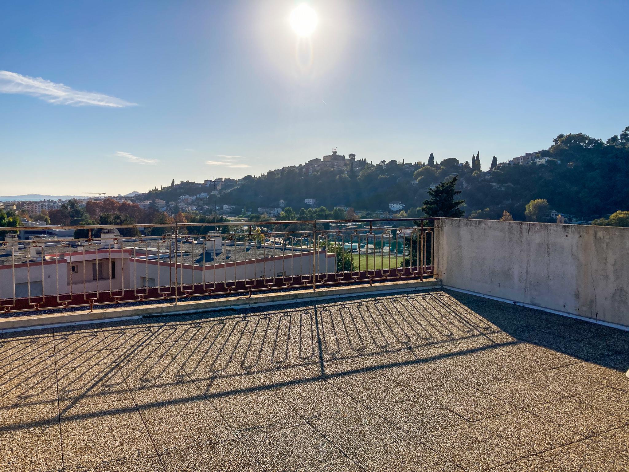 Location – T3 toit terrasse & parking – Cagnes-sur-mer